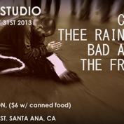 Freak Style Presents: Cab 20, Thee Rain Cats, Bad Antics, The Frights