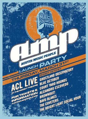 Austin Music People Launch Party & Concert Series: Blue October, Ghostland Observatory, Bright Light Social Hour & More!