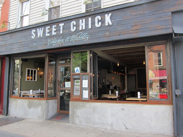 Best place to Take Dad for Brunch in NYC on Father's Day williamsburg no fee rental apartments fried chicken sweet chick location 2