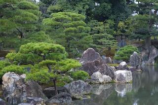 Garden at Ninomaru Palace, Kyoto