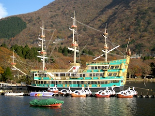 Lake Ashi Pirate Ship Cruise, Hakone