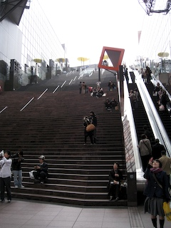 Kyoto Station stairway