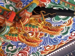 building detail, Shinshou-ji, Narita-san
