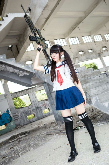Disarming cosplay