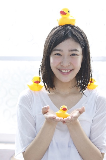 Ducks on Mami Kamura