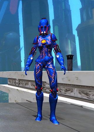 Champions Online - EVA