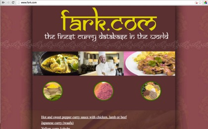 Fark Curry Database