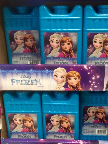 Frozen ice packs