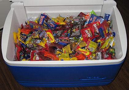 candy, man!