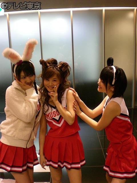 Sayumi, Risa, and Aika send multi-level signals