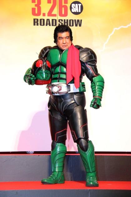 Hiroshi Fujioka, the original Kamen Rider
