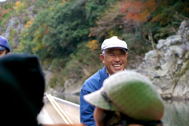 Hozugawa Kudari boatman
