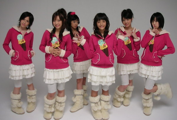 The debut of Icecream Musume