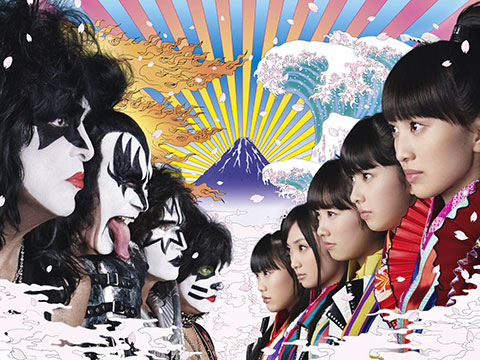 Jpop teamup: Momoiro Clover Z and Kiss