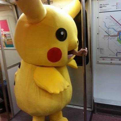 Training Pikachu