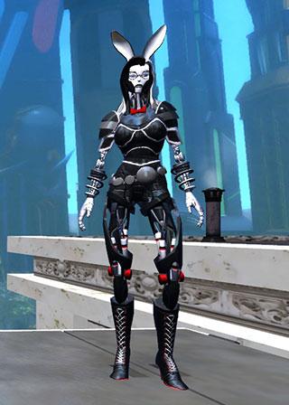 Champions Online - RoboBunny