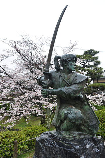 non-traditional swordsmanship at Iwakuni High