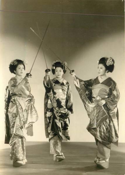 Three Apprentice-Geisha Musketeers