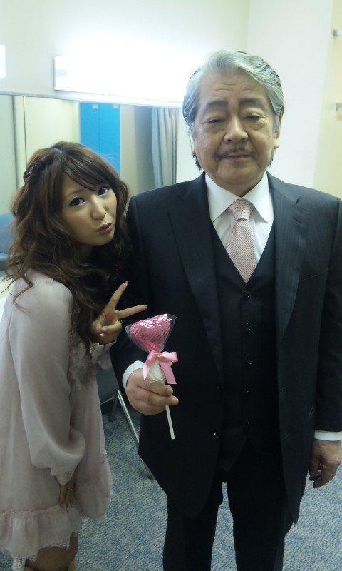 Mari Yaguchi and Yasutaka Tsutsui