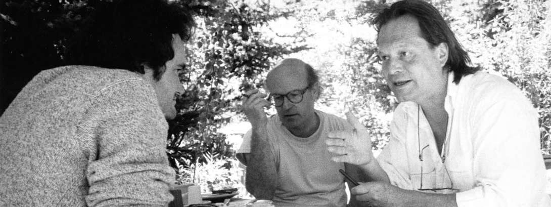 Q Tarantino, Volker Schloendorff, T Gilliam_91 Film Lab_by Sandria Miller