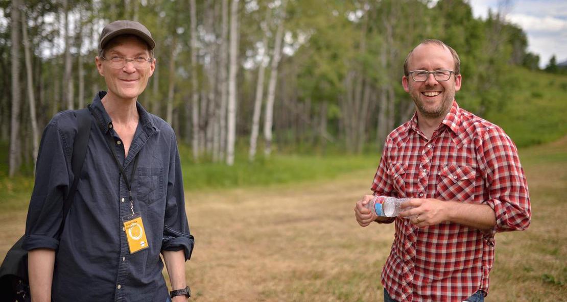 Jonathan Oppenheim and Nels Bangerter. © Sundance Institute | Brandon Cruz