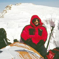 Tracey capen on mt. mckinley