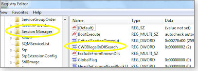 Windows dll registry tweak