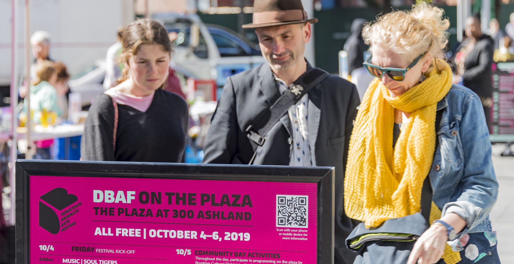 2019 Downtown Brooklyn Arts Festival brings together renowned Brooklyn institutions for a three-day celebration