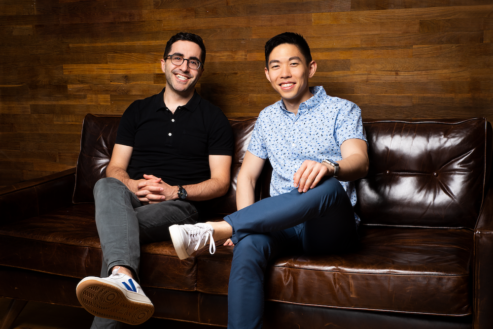 Pico founders Jason Bade and Nick Chen