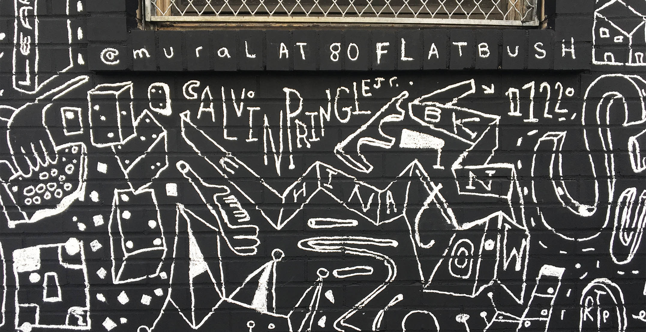 Mural at 80 Flatbush