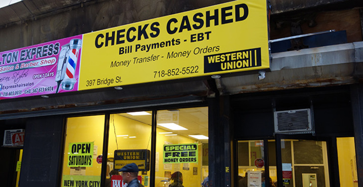 Downtown Brooklyn | Check Cashing Service
