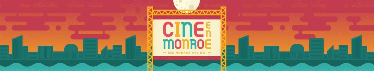 Movies on Monroe Announcement Banner (Spanish)