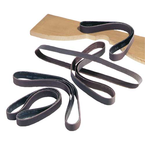 31-373 1 in. x 42 in. 120 Grit 5 Pc. Aluminum Oxide Sanding Belts
