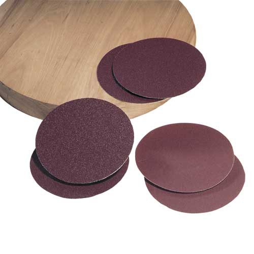 31-346 8 in. 50 Grit 2 Pc. Aluminum Oxide Stick-on Discs