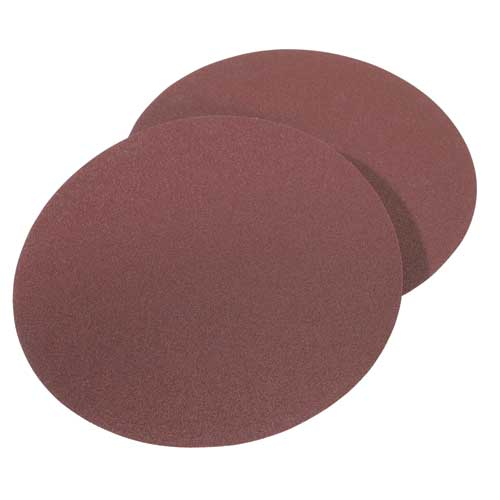31-348 8 in. 120 Grit 2 Pc. Aluminum Oxide Stick-On Discs
