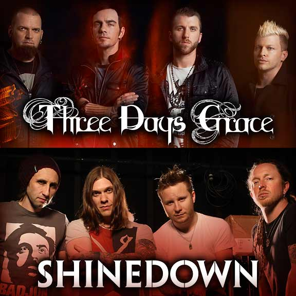 Three Days Grace & Shinedown