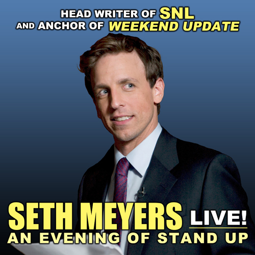 Seth Meyers  at TPAC's James K. Polk Theater
