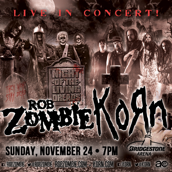 Rob Zombie and KoRn