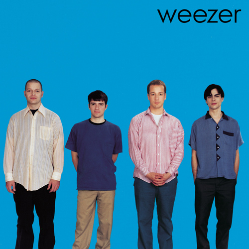 Weezer performing their Blue Album