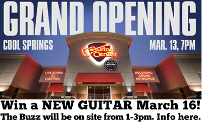 Guitar Center Cool Springs Grand Opening