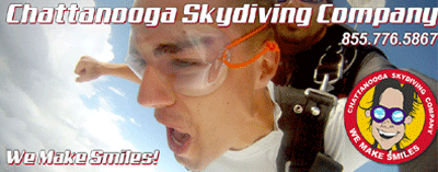 Chattanooga Skydiving Ad