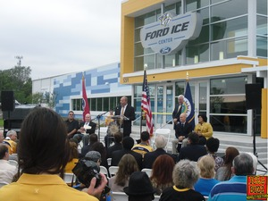 the buzz at the pred s ford ice center grand opening weekend
