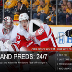 Preds-redwings-2013