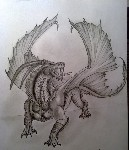 Drawing: Dragon