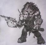 Drawing: tauren