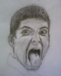 Drawing: look at my tongue
