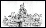 Drawing: Trevi Fountain