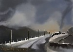 Drawing: Winter Road