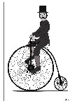 Drawing: Drawing Day- Penny Farthing