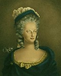 Drawing: Marie Antoinette: Last Queen of France